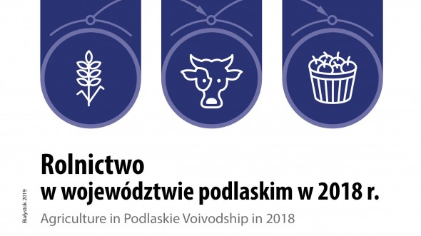 Agriculture in Podlaskie Voivodship in 2018